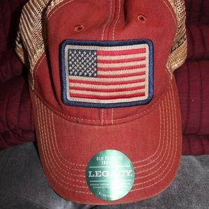 Legacy American Flag Trucker Hat